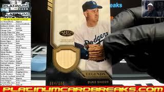2018 Topps Tier One Baseball 12 Box Case PYT #44
