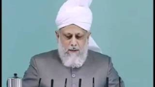Urdu Friday Sermon 7th May 2010 - Islam Ahmadiyya