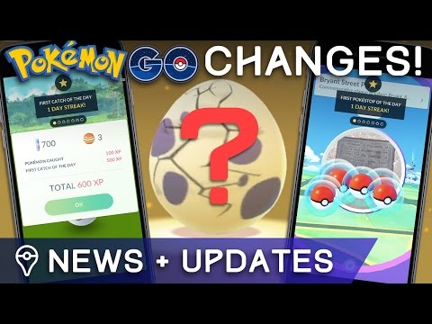 POKÉMON GO NEWS: DAILY BONUSES, EGG CHANGES, & BIOME SHIFT