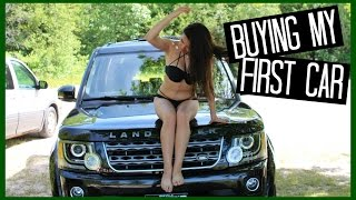 One of Adelaines Camera Roll's most viewed videos: BUYING MY FIRST CAR (Land Rover LR4)