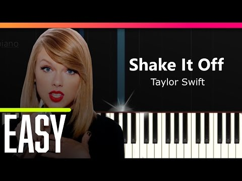 """Taylor Swift - """"Shake It Off"""" Piano Tutorial - Chords - How To Play - Cover"""