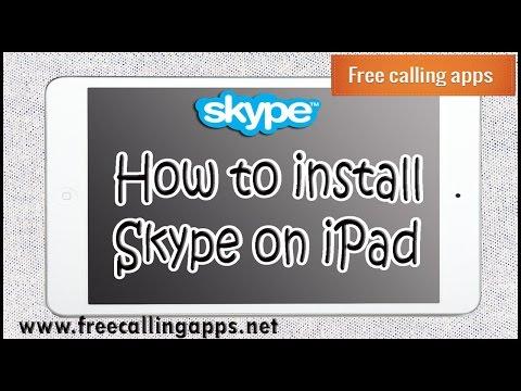 How to install skype on ipad
