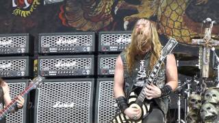 Black Label Society - Damn the Flood - Live 5-24-14 River City Rockfest