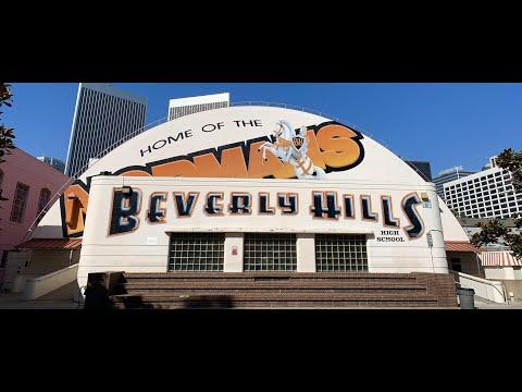 Beverly Hills School Tour - Beverly Hills High School / Beverly Hills / California / USA