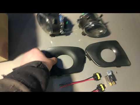 В Garage: Установка противотуманок на калину