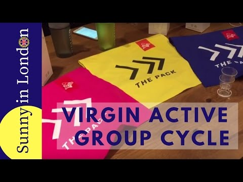 Virgin Active Gym- The Pack Cycle Class Review