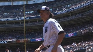 Sights and Sounds: Old Timers' Day