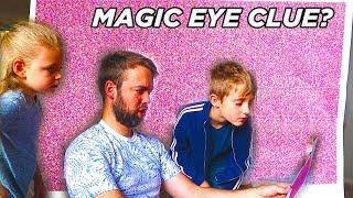 Mr E Magic Eye Challenge Adventure! Mysterious Secret Clue! / The Beach House