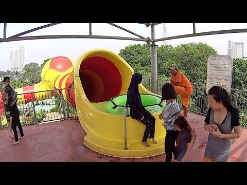 Giant Funnel Water Slide at Atlantis Water Adventure