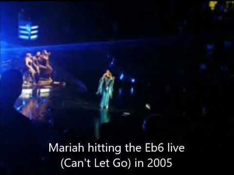 If Mariah sang Kelly Clarkson's Whistle Note (Eb6) in 'Love So Soft'
