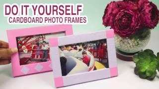 Cardboard Photo Frame: DIYIndian