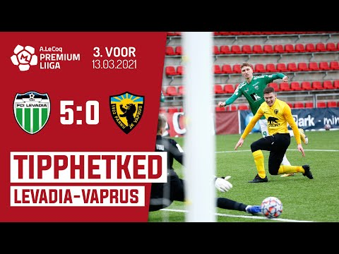 Levadia Tallinn Parnu JK Vaprus Goals And Highlights