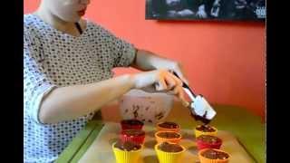 Chocolate Cherry Muffins (vegan) - Cuisina