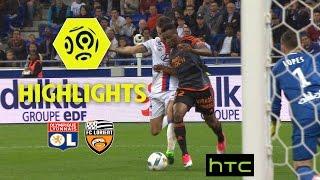 Olympique Lyonnais - FC Lorient (1-4) - Highlights - (OL - FCL) / 2016-17