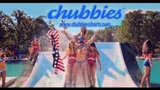 "Epic Waterslide with ""Chubbies Shorts"" ( Video Commercial) 2016"