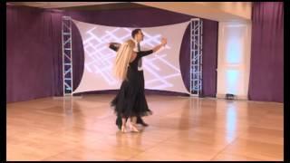 International Style Waltz Technique by Arunas Bizokas and Katusha Demidova