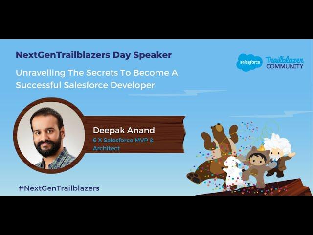 Secrets to Become a Successful Salesforce Developer | NextGenTrailblazers Day - Inaugural