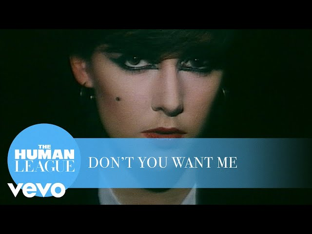 The Human League - Don't You Want Me (Official Music Video)