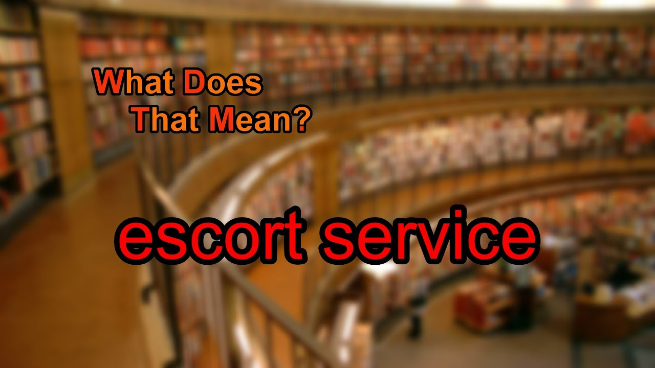 how to find escort service