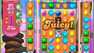 Candy Crush Soda Saga Level 1210 no boosters