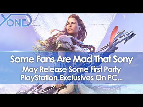 Some Fans Are Mad That Sony May Release Some First Party PlayStation Exclusives On PC...