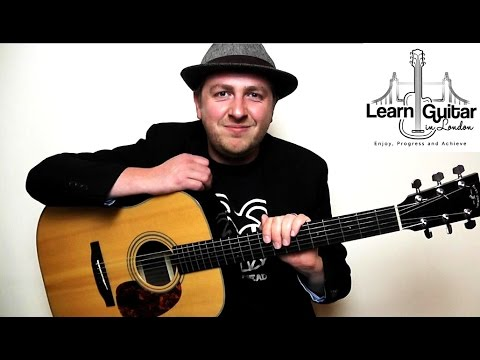 Sonnet - Guitar Lesson - The Verve - Chords - How To Play
