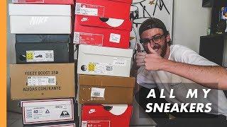 LA COLLECTION DE SNEAKERS DE TOMMY ! | All My Sneakers #1