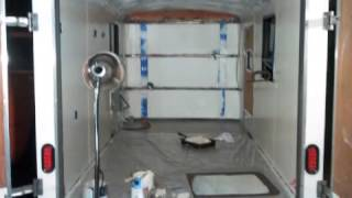 Cargo Camper Conversion Build