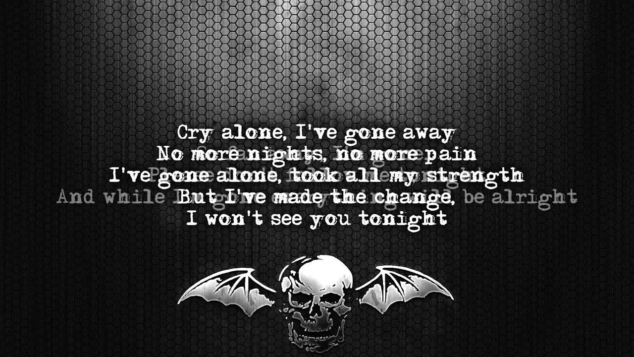 Avenged Sevenfold - I Won't See You Tonight Part 1 Lyrics ...
