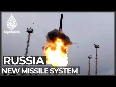 Russia deploys missiles '27 times faster than speed of sound'