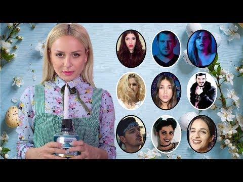 Δίνω αστείες λαμπάδες σε Youtubers | Gina