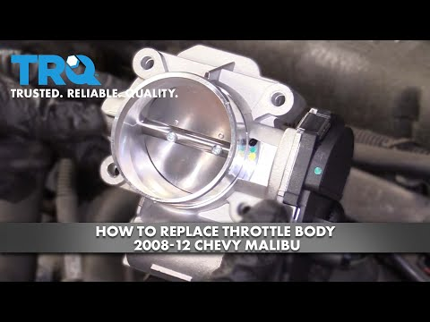 How to Replace Throttle Body 2008-12 Chevy Malibu