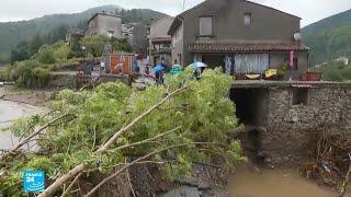 فرنسا: فيضانات مفاجئة في جنوب البلاد تخلف خسائر مادية كبيرة