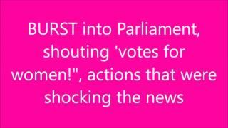 Horrible Histories - The Suffragettes + lyrics HD