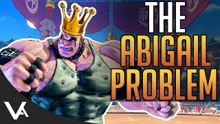 SFV - The Abigail Problem! Why Is He So Strong In Street Fighter 5 Arcade Edition