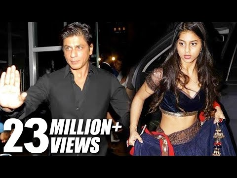 Thumbnail: Shahrukh Khan's HOT Daughter Suhana At Bachchan's Diwali Party 2016