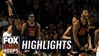 Maryland stuns Minnesota on 3 w/1.9 seconds left, caps 16-pt comeback | FOX COLLEGE HOOPS HIGHLIGHTS