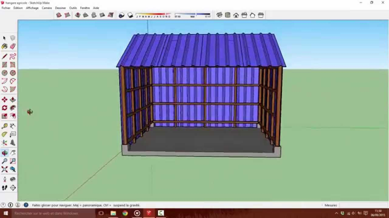 Time Laps construction Hangar - YouTube