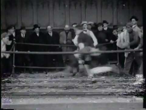 THE CHAMPION (1915) -- Charlie Chaplin, Edna Purviance