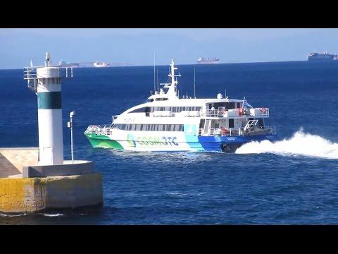 Flyingcat 6 & Fhivos - Πρωινή αναχώρηση από Πειραιά ( Morning departure from Piraeus)
