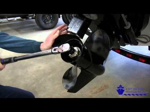 How to Install a Michigan Wheel Propeller