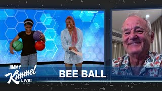 Basketball & Spelling Phenom Zaila Avant-garde Wows Us Again & Gets Surprise from Bill Murray!