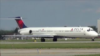 Plane Spotting at Detroit Metro Airport (KDTW)