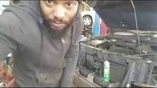 Replacing Radiator 2002 GMC Envoy 4.2 Live