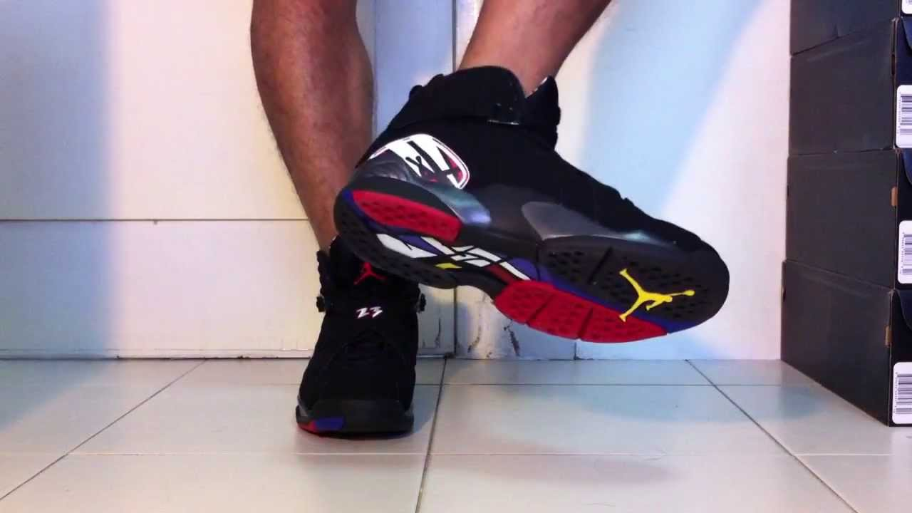 premium selection c9ad2 7d7b3 ... switzerland air jordan 8 retro playoffs 2013 release on feet 3af99 c73ae