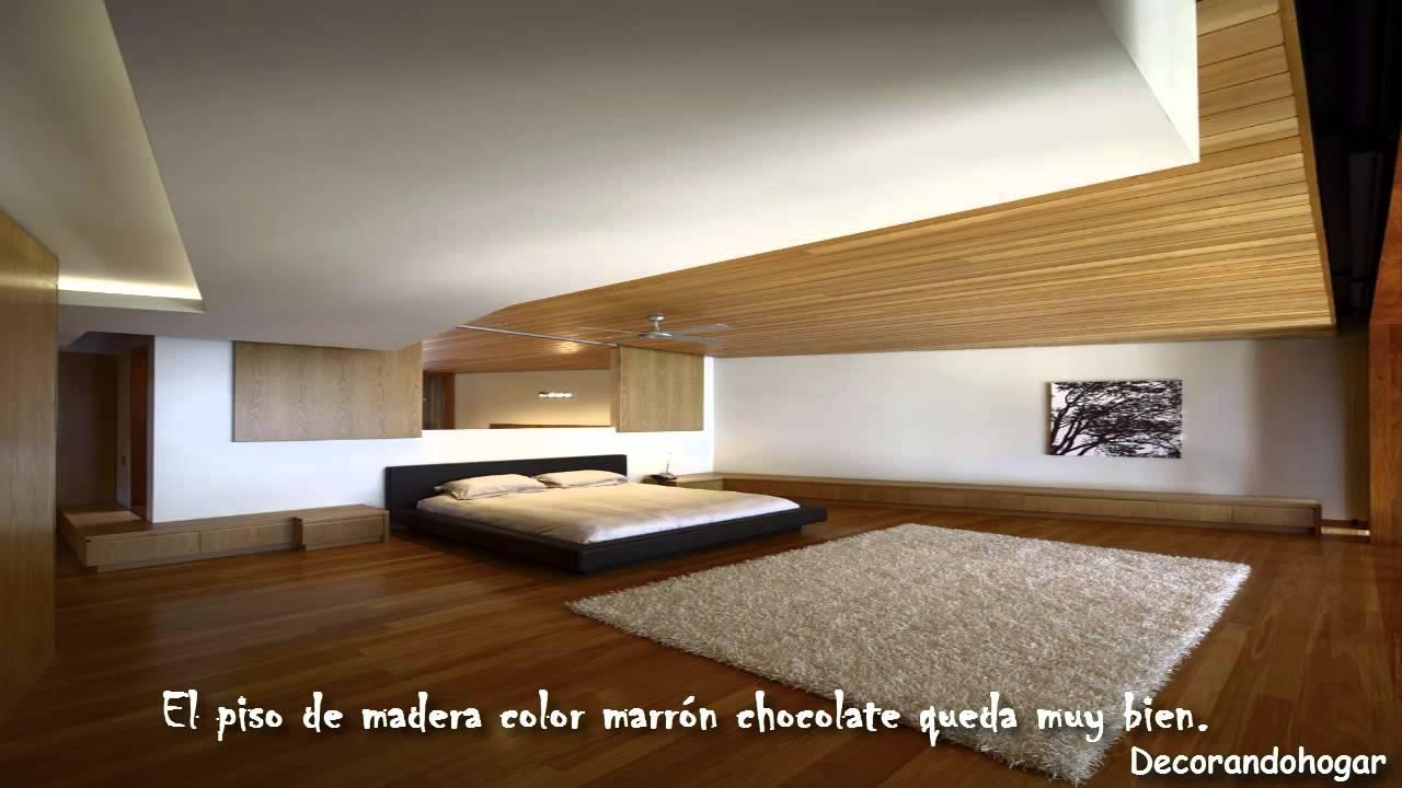 Dormitorios con piso de madera decorar cuarto con suelo Pisos para dormitorios