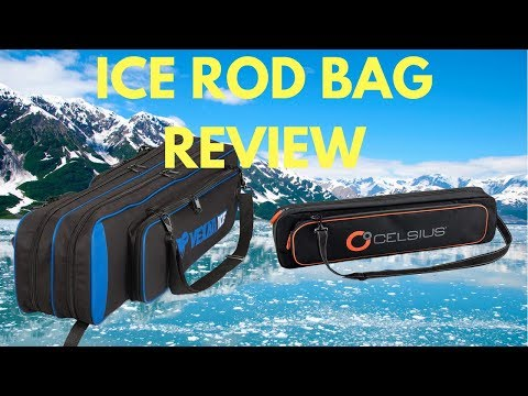 Ice Fishing Rod Case Review Vexan ICE And Celsius Basic Ice Fishing Rod Bag Gear Review