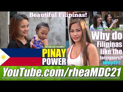 Beautiful Girls of the Philippines: Travel to Manila and Find Out Why FILIPINAS like FOREIGNERS