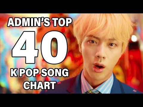 Top 40 K Pop Songs • Admin's Chart (September 2018 - Week 2)