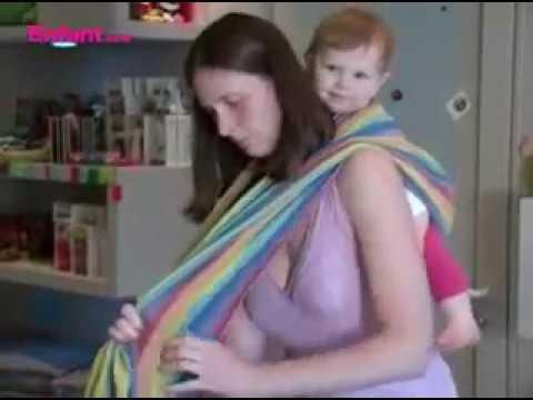 Porter Bébé En écharpe Dans Le Dos | Conseils Pour Les Mamans